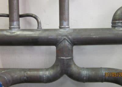 Plombier-Pau-collecteur acier chauffage